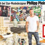 BILD bei Star-Designer Philipp Plein in Cannes