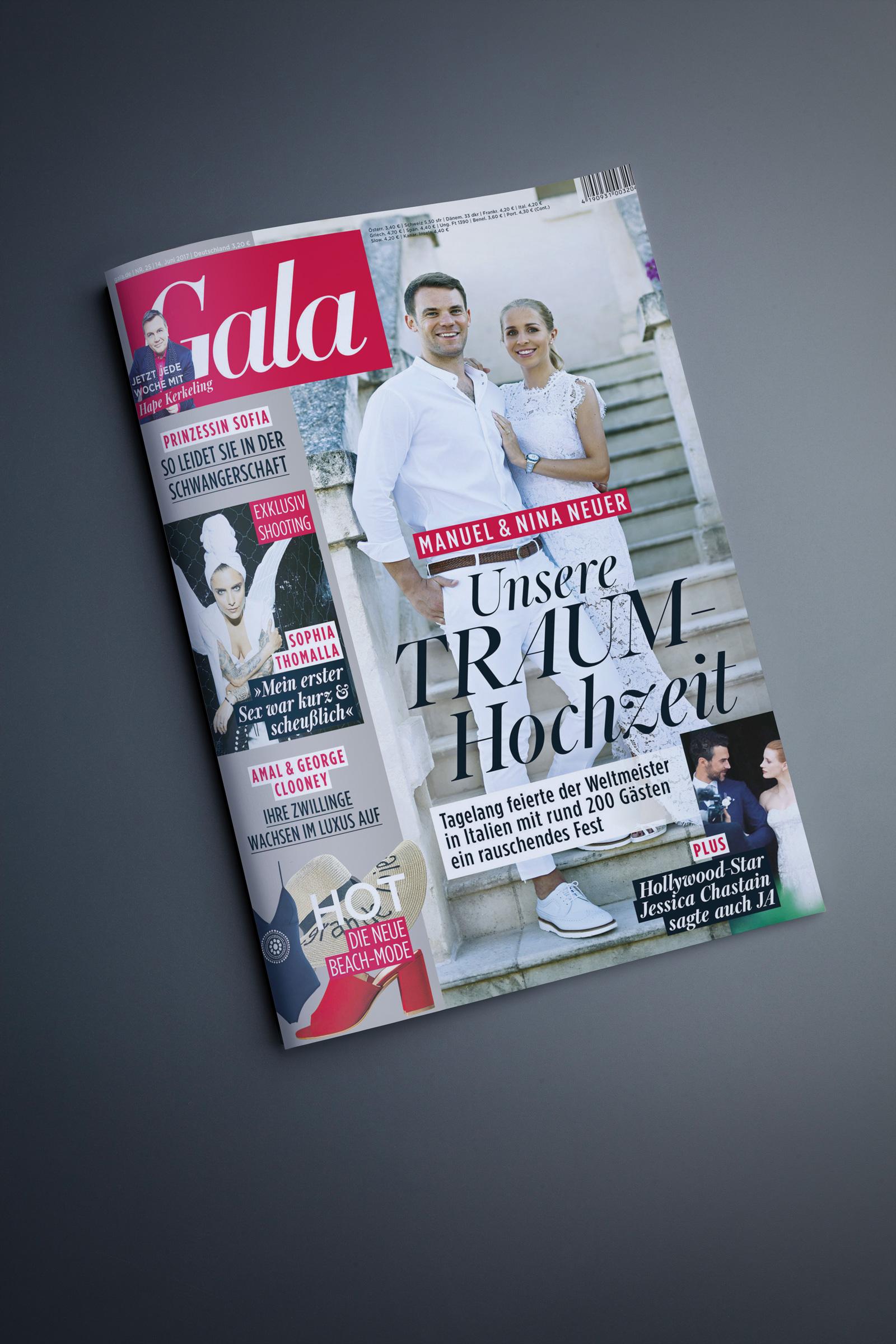 Sophia Thomalla Cover GALA Nr. 25