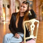 Sophia Thomalla schlaflos auf Schloss Bückeburg