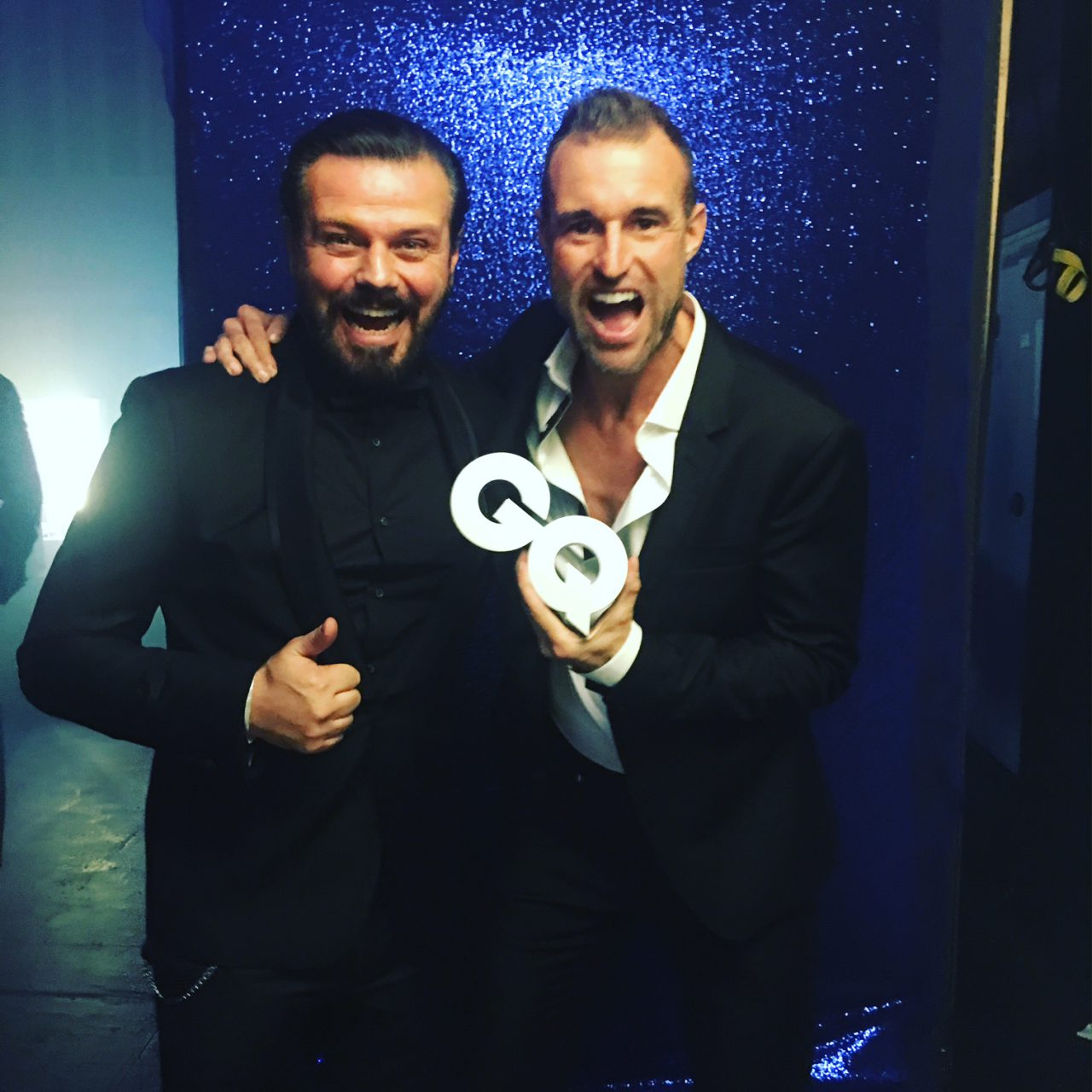 Alain Midzic Philipp Plein - GQ Man of the Year Fashion