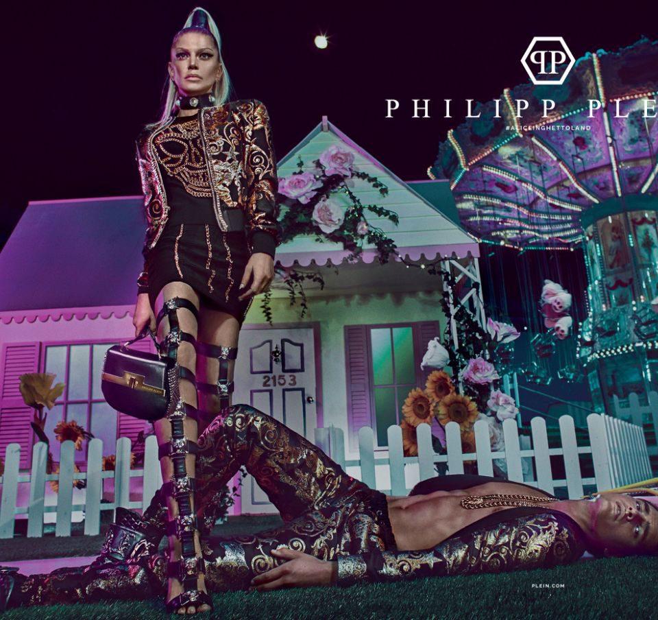 Fergie für die Philipp Plein Kampagne