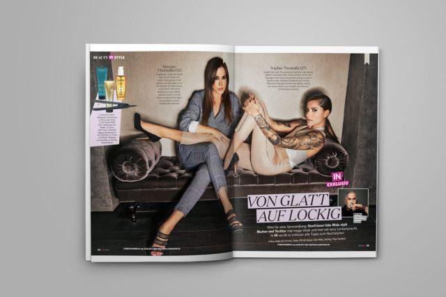 Sophia und Simone Thomalla beim Star-Friseur
