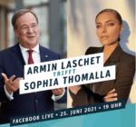 Sophia Thomalla trifft Armin Laschet
