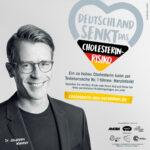 """Neue Kampagne mit Dr. Johannes Wimmer: """"Deutschland senkt das Cholesterin-Risiko"""""""