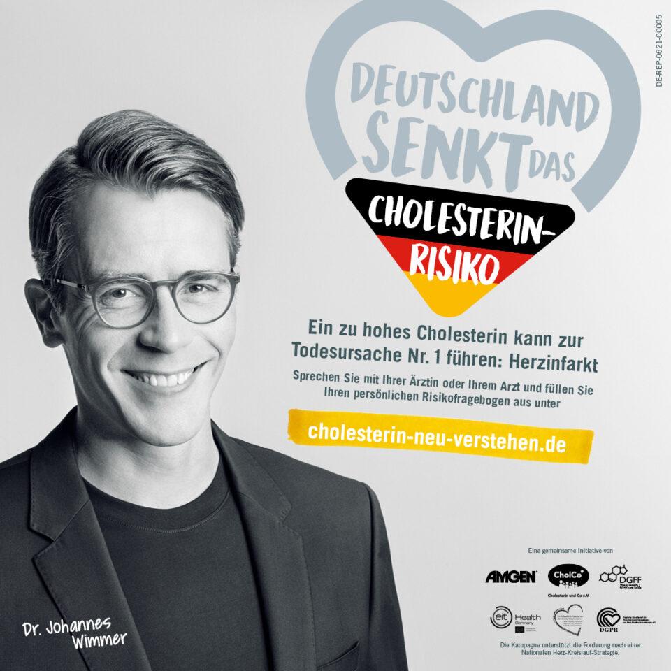 Deutschland senkt das Cholesterin-Risiko